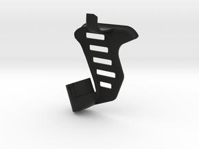 Tavor SAR Shark Fin + Brace - Left-handed in Black Premium Versatile Plastic