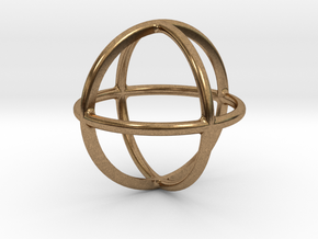 Simply Shapes Homewares Circle in Natural Brass