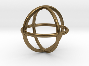 Simply Shapes Homewares Circle in Natural Bronze