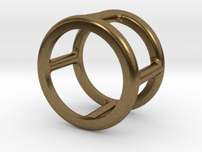 Simply Shapes Rings Circle in Natural Bronze: 3.25 / 44.625