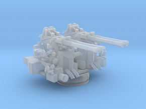 1/300 USN 40mm Quad Bofors in Smooth Fine Detail Plastic