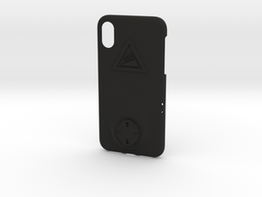 iPhone X Wahoo Mount Case - Hill Climb in Black Premium Strong & Flexible
