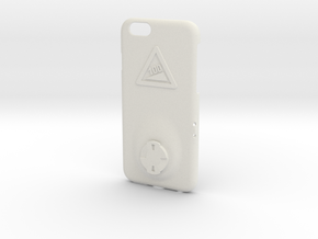 iPhone 6/6S Wahoo Mount Case - Hill Climb in White Premium Versatile Plastic