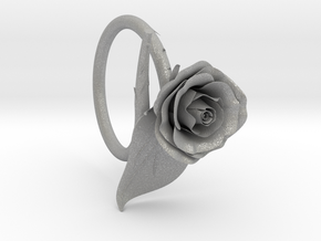 Rose Ring in Aluminum