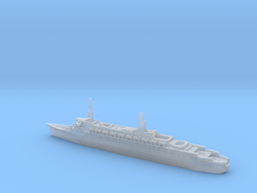 1:2400 Queen Elizabeth 2 QE2 (1969) in Smooth Fine Detail Plastic