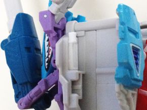 Generations Blitzwing Shoulder Fix in White Strong & Flexible