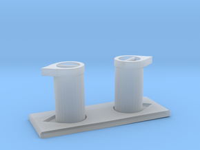 1/48 DKM UBoot Bollard in Smooth Fine Detail Plastic