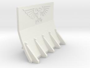 Supressor Aquilla Dozer Blade in White Natural Versatile Plastic