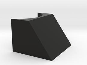 NRB Nose Cone Magnet Plug in Black Natural Versatile Plastic