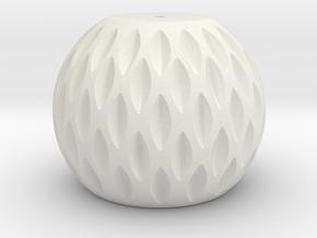 Lamp Turbine in White Natural Versatile Plastic