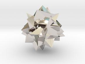 Go Geometric Homeware Mess in Platinum: Small