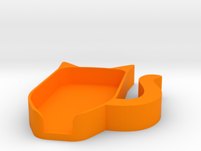 Trezor Cover - Orville Justail in Orange Processed Versatile Plastic