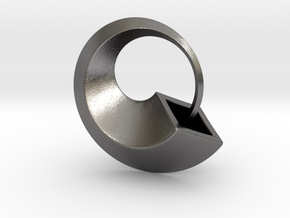 Ouroboros in Polished Nickel Steel