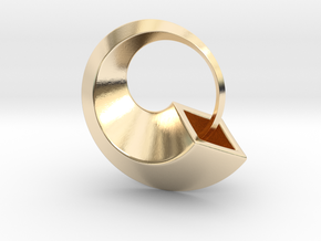 Ouroboros in 14k Gold Plated Brass
