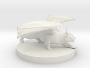 Domestic Shorthair Dragon Cat in White Natural Versatile Plastic