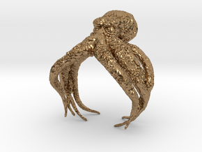 Cthulhu in Natural Brass