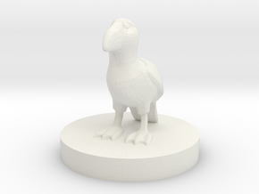 Puffin miniature  in White Natural Versatile Plastic