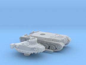 AMX-30-barcaza+torre+cañon-100-proto-01 in Smooth Fine Detail Plastic