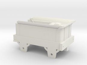 00 Scale Era 1 Bury Tender in White Natural Versatile Plastic