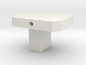 N Gauge ELC Coupling Adapter in White Natural Versatile Plastic