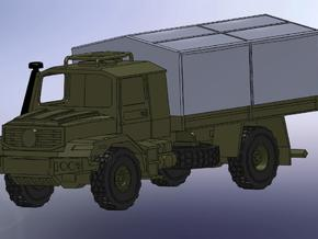 MB Zetros 4x4 1:144 in Smooth Fine Detail Plastic