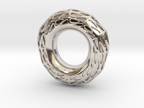 Halo in Rhodium Plated Brass: 5.5 / 50.25