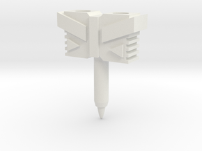 Hammer / Hilt for TR Windblade Swords in White Natural Versatile Plastic