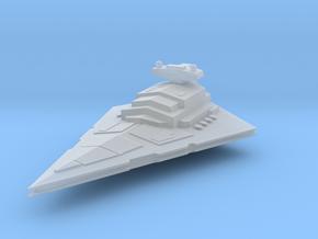 7.7 cm Star Destroyer in Smoothest Fine Detail Plastic