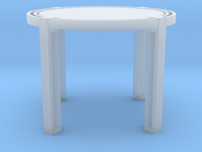 Miniature Vecchio Side Table - Blainey North in Smooth Fine Detail Plastic: 1:12