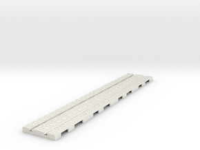 p-12stw-long-straight-1a in White Natural Versatile Plastic