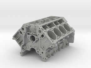 1/8 Scale LS3 Engine Block in Aluminum: 1:8