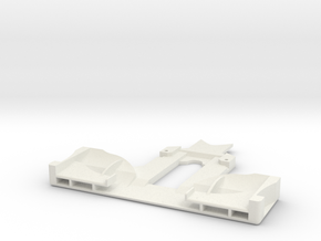 Mini-Z F1 Front Wing in White Natural Versatile Plastic