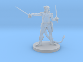 Tiefling Swashbuckler in Smooth Fine Detail Plastic