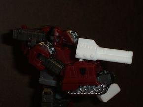 Sunlink - 3mm: Tri-Barrel Gun in White Strong & Flexible