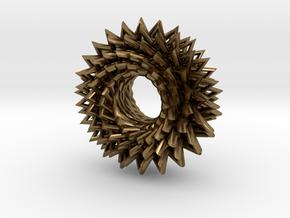 Math Star in Natural Bronze