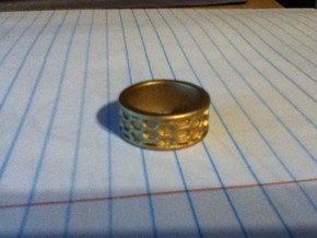 Bee Ring in White Strong & Flexible