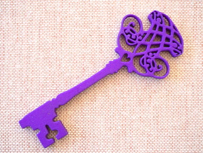 Magical Kids Key in Purple Strong & Flexible Polished