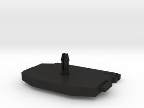 Bogie frame Gorlitz V Dunakeszi in Black Acrylic: 1:87 - HO