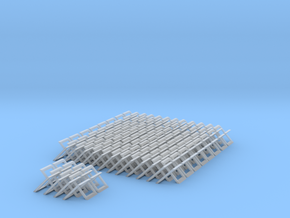 chain mail in Smooth Fine Detail Plastic: Medium