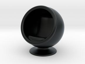 Ball Chair in Black Hi-Def Acrylate