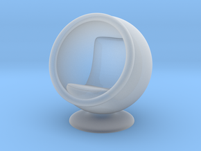 Ball Chair in Smooth Fine Detail Plastic