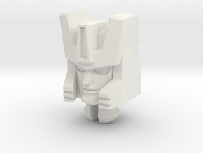 Roadhandler Head for PotP Windcharger in White Natural Versatile Plastic: Medium