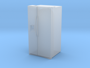 1:48 (O SCALE) 24.5 CU FT REFRIGERATOR (V1.1) in Smooth Fine Detail Plastic