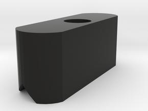 Micro Red Dot Sight Mount Bracket in Black Natural Versatile Plastic