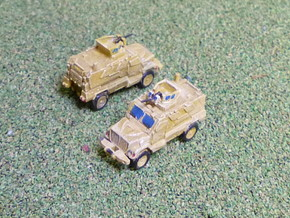 International MaxxPro MRAP Vehicle 1/285 in Smooth Fine Detail Plastic