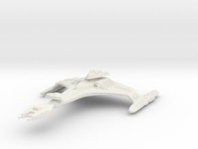 2500 Klingon Vor'Cha class in White Natural Versatile Plastic