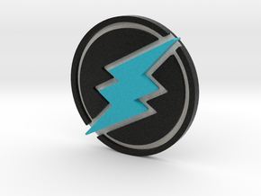 Electroneum Coin in Full Color Sandstone