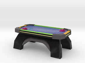 Mini Air Hockey Table in Full Color Sandstone: Small