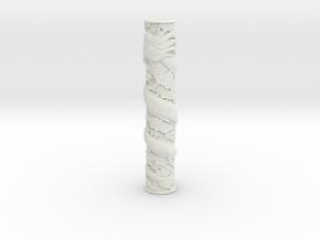 Dragon Pillar (Test acc) in White Natural Versatile Plastic