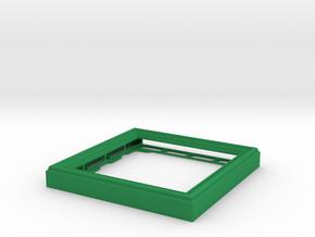 CD Frame Rain 5 in Green Processed Versatile Plastic